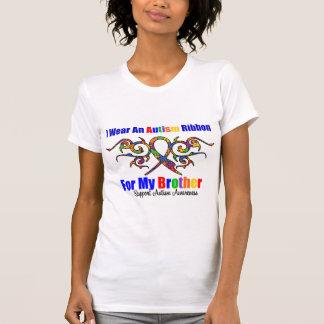 Autism Tribal Ribbon Brother T-shirts