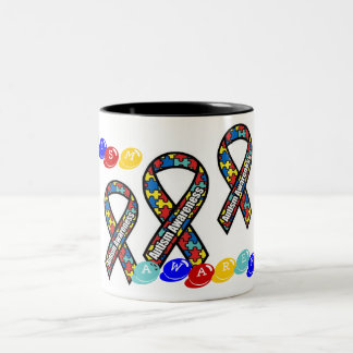Autism Two-Tone Coffee Mug