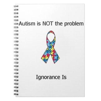 Autism vs Ignorance Notebooks