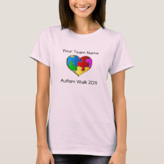 Autism Walk 2011 Shirt