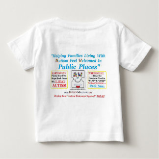 Autism Welcomed created for Kids with Autism Tshirts