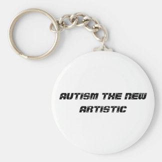 autisme artistique porte-clef