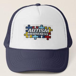 AutismPuzzle Trucker Hat