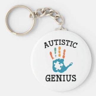 Autistic Genius Keychain