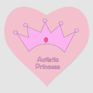 Autistic Princess Stickers