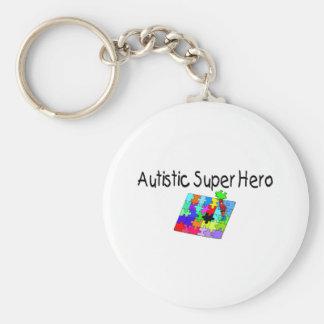Autistic Super Hero Keychain