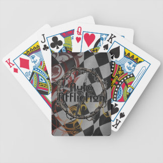 Auto Affliction Checkered Flag playing cards