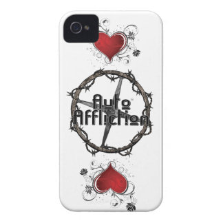 Auto Affliction Iphone 4 case with hearts
