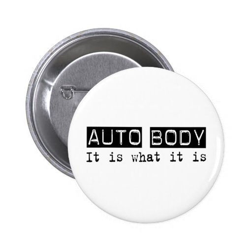 Auto Body It Is Button