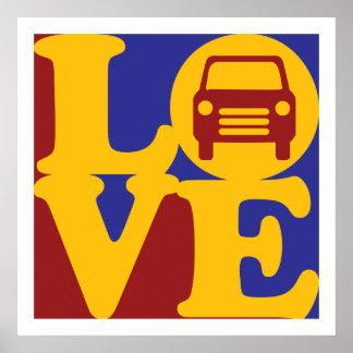 Auto Body Love Poster