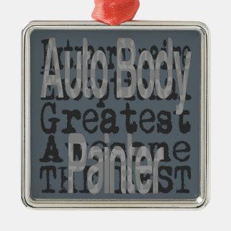 Auto Body Painter Extraordinaire Metal Ornament