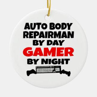 Auto Body Repairman Gamer Ceramic Ornament