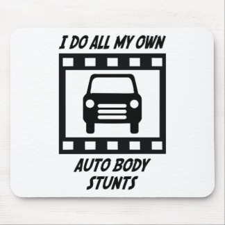 Auto Body Stunts Mouse Mat