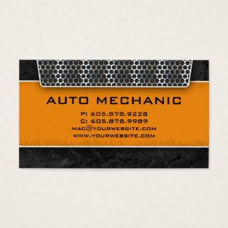 Auto Business Card Carbon Filter Construction