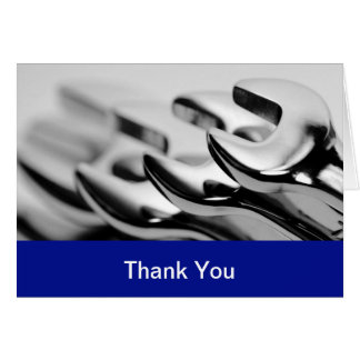 Auto Business Thank You Cards