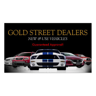 Car dealer business cards and business card templates for Car sales business cards