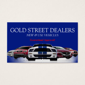 Auto, Car, Dealer Dealership Business Card