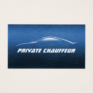 Auto Car Private Chauffeur Driver Business Card