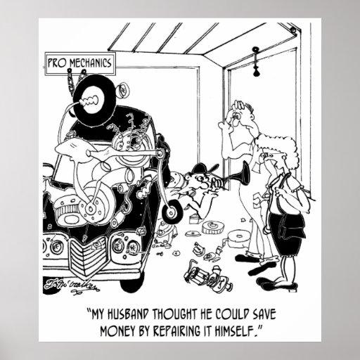 Auto Cartoon 9204 Poster
