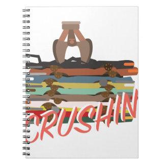 Auto Crushin Spiral Notebook