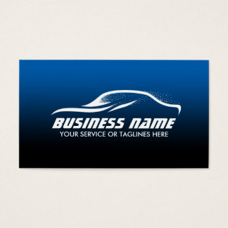 Auto body shop business cards and business card templates for Car shaped business cards