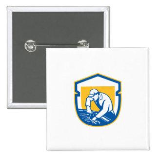 Auto Mechanic Automobile Car Repair Shield Retro Badge