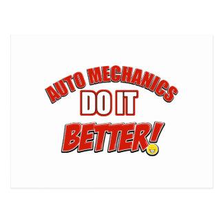 Auto Mechanic designs Postcard