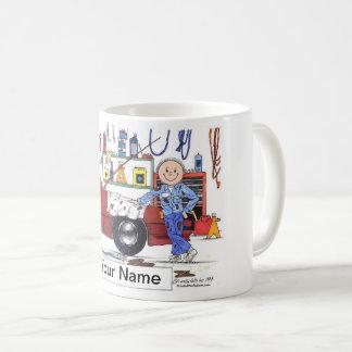 Auto Mechanic, Male Coffee Mug