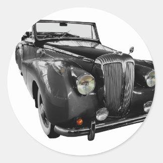 Auto Oldtimer Classic Car Classic Round Sticker