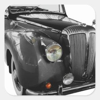 Auto Oldtimer Classic Car Square Sticker