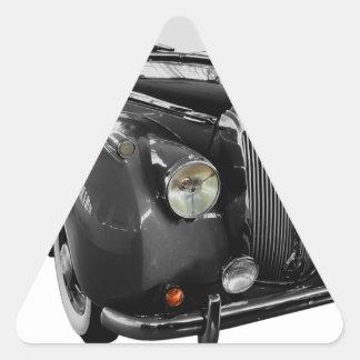 Auto Oldtimer Classic Car Triangle Sticker
