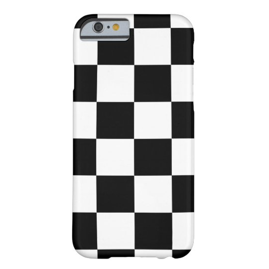 Auto Racing Chequered Chequered Flag Barely There iPhone 6 Case