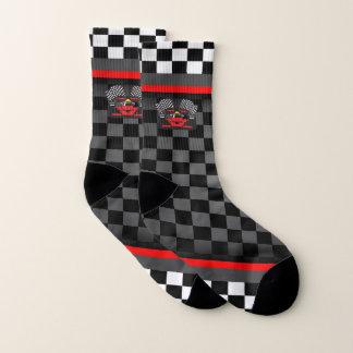 Auto Racing Design Socks 1