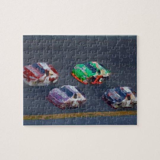 Auto Racing Puzzle