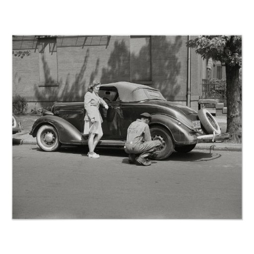 Auto Repair Service, 1942 Posters