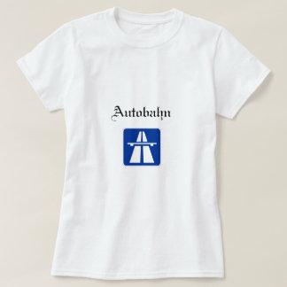 Autobahn Womens T-shirt