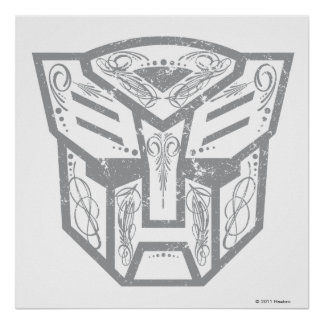 Autobot Decorative Symbol Poster