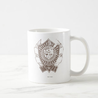 Autobot Distressed Badge 2 Coffee Mug