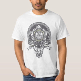Autobot Floral Badge T-Shirt