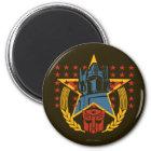 Autobot Patriotic Badge Magnet