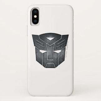 Autobot Shield Metal iPhone X Case