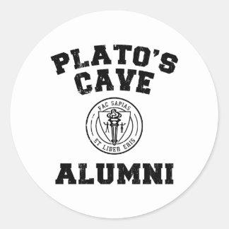 Autocollant d anciennes élèves de la caverne de Pl