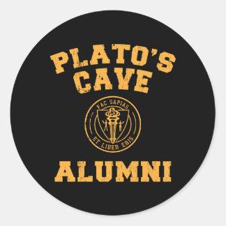 Autocollant d'anciennes élèves de la caverne de Pl