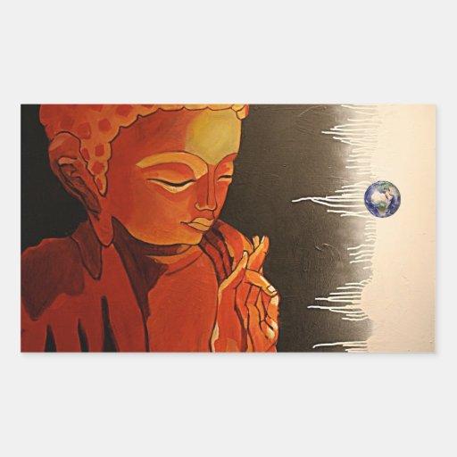 Autocollant d'art de bruit de Bouddha