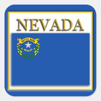Autocollant de Desigsn de drapeau d'état du Nevada