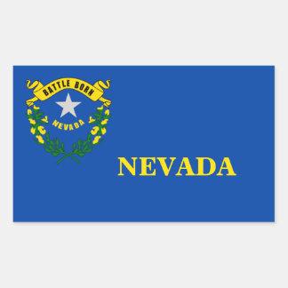 Autocollant de drapeau d'état du Nevada