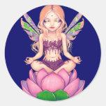 """Autocollant """"de fée de Lotus"""""""