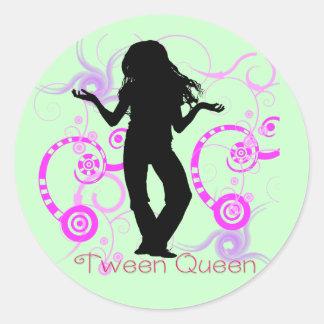 Autocollant de la Reine de Tween