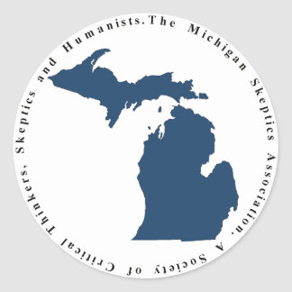 Autocollant de logo de MISkeptics
