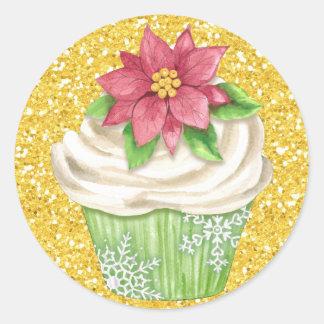 Autocollant de nourriture de petit gâteau - SRF